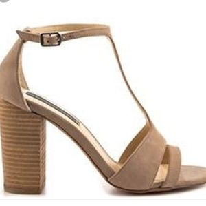 New Steve Madden tan leather Olivia Heel
